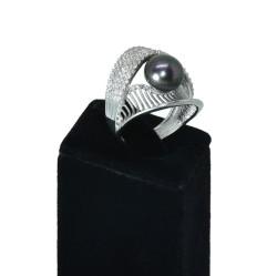 - Ahsen 925 Ayar Gümüş İnci Yüzük AH-00134 (1)